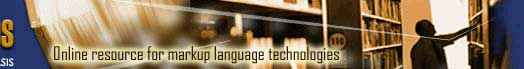 The Cover Pages: The Online Resource for Markup Language Technologies